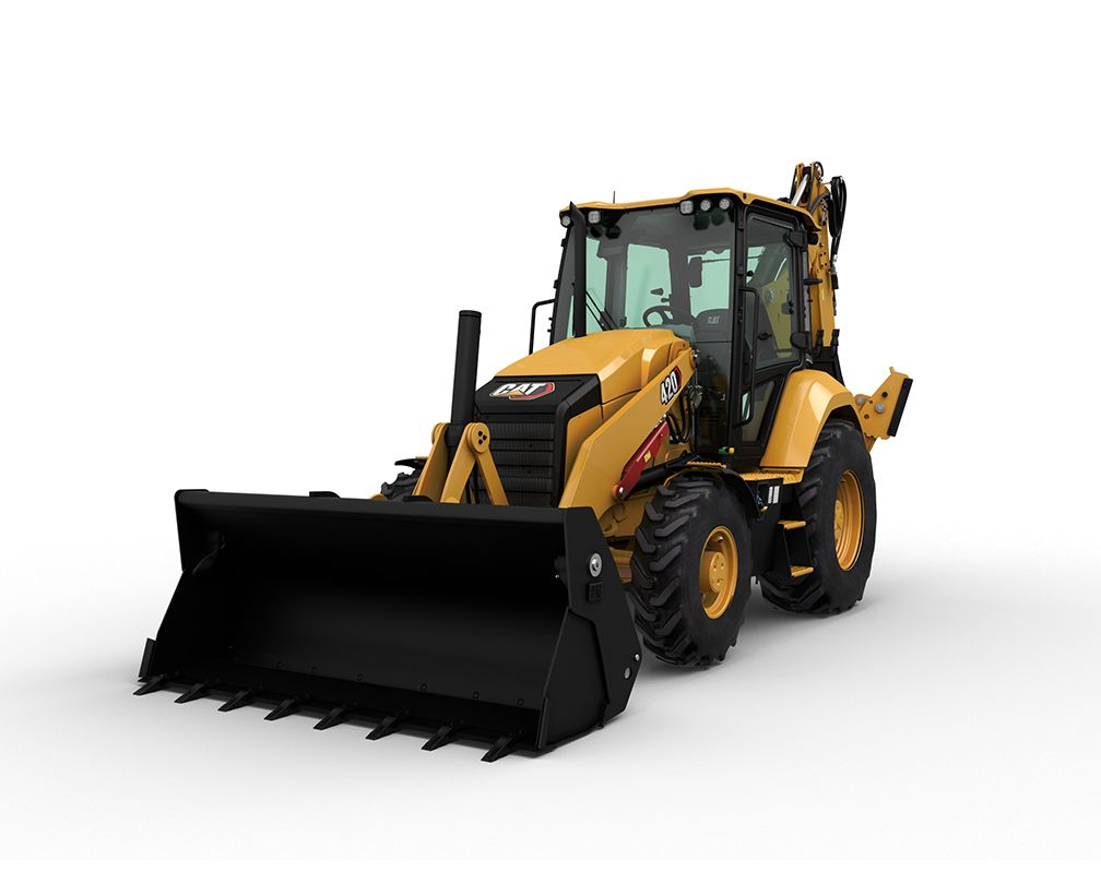 The new Cat® 420 Backhoe Loader delivers comfort, performance and multitasking versatility – in one easy-to-operate machine.