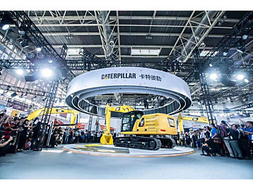"""Caterpillar launched its next generation HEX excavator to global customers in China in 2017, opening a new age of """"smart construction."""""""