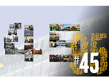 In 2020, Caterpillar celebrated its 95th birthday and 45th anniversary in China.