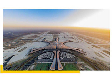 In 2019, Caterpillar equipment participated in the construction of the Beijing Daxing International Airport. Several CAT diesel generator sets provide back-up power support.