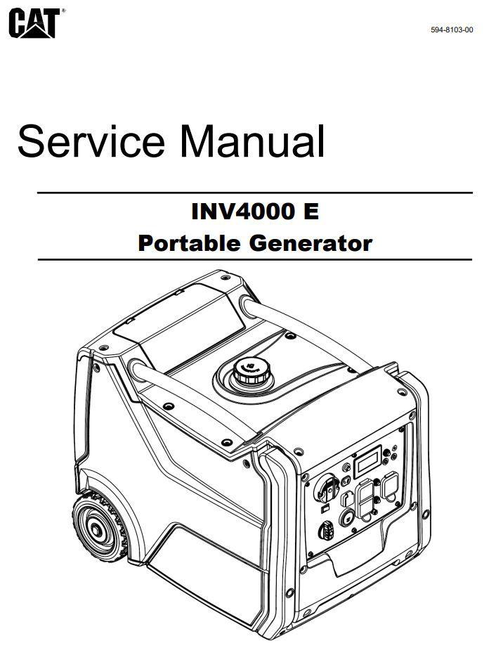 INV4000 E Service Manual