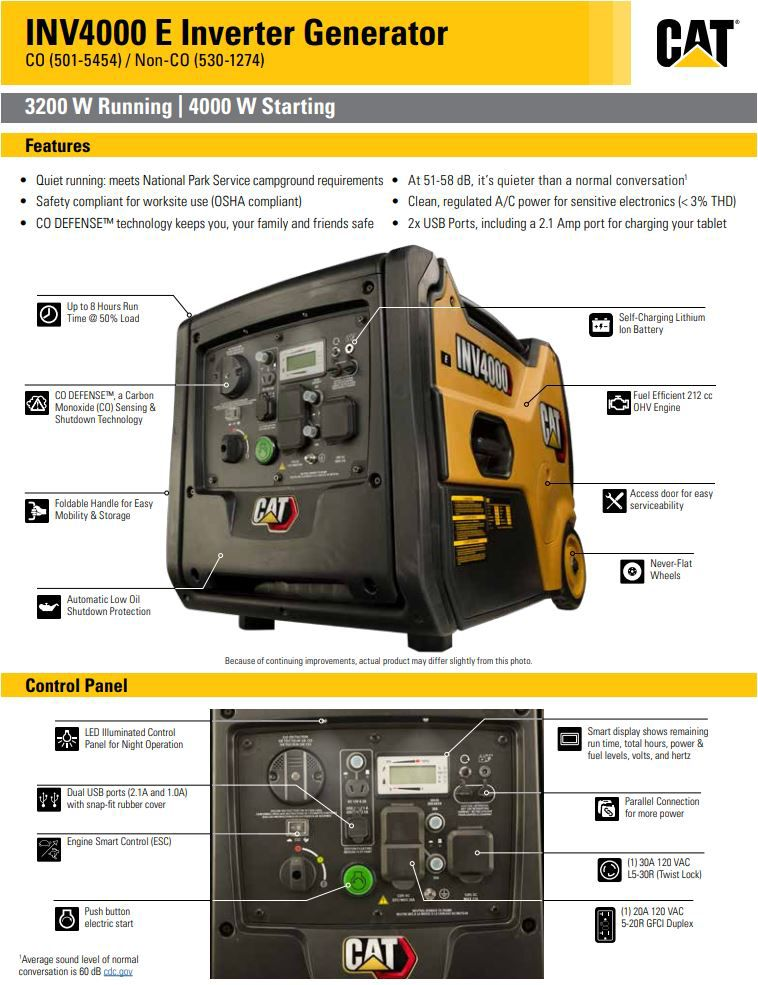 INV4000 E Spec Sheet