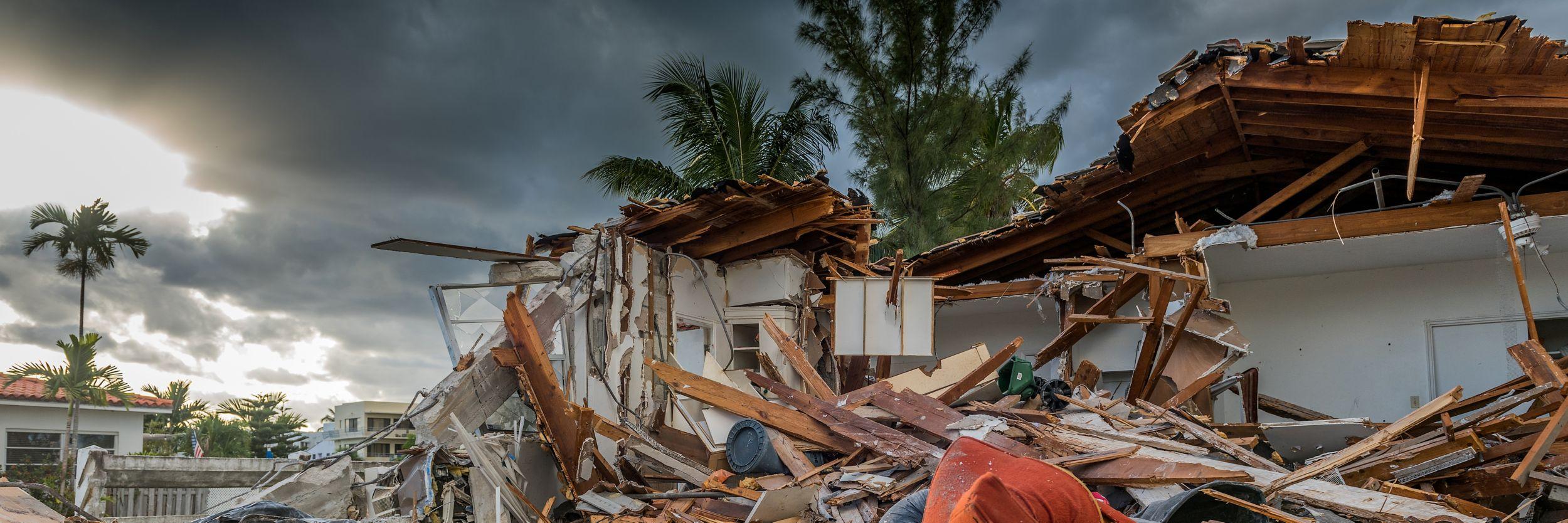 Soccorso della Croce Rossa Americana in caso di catastrofi