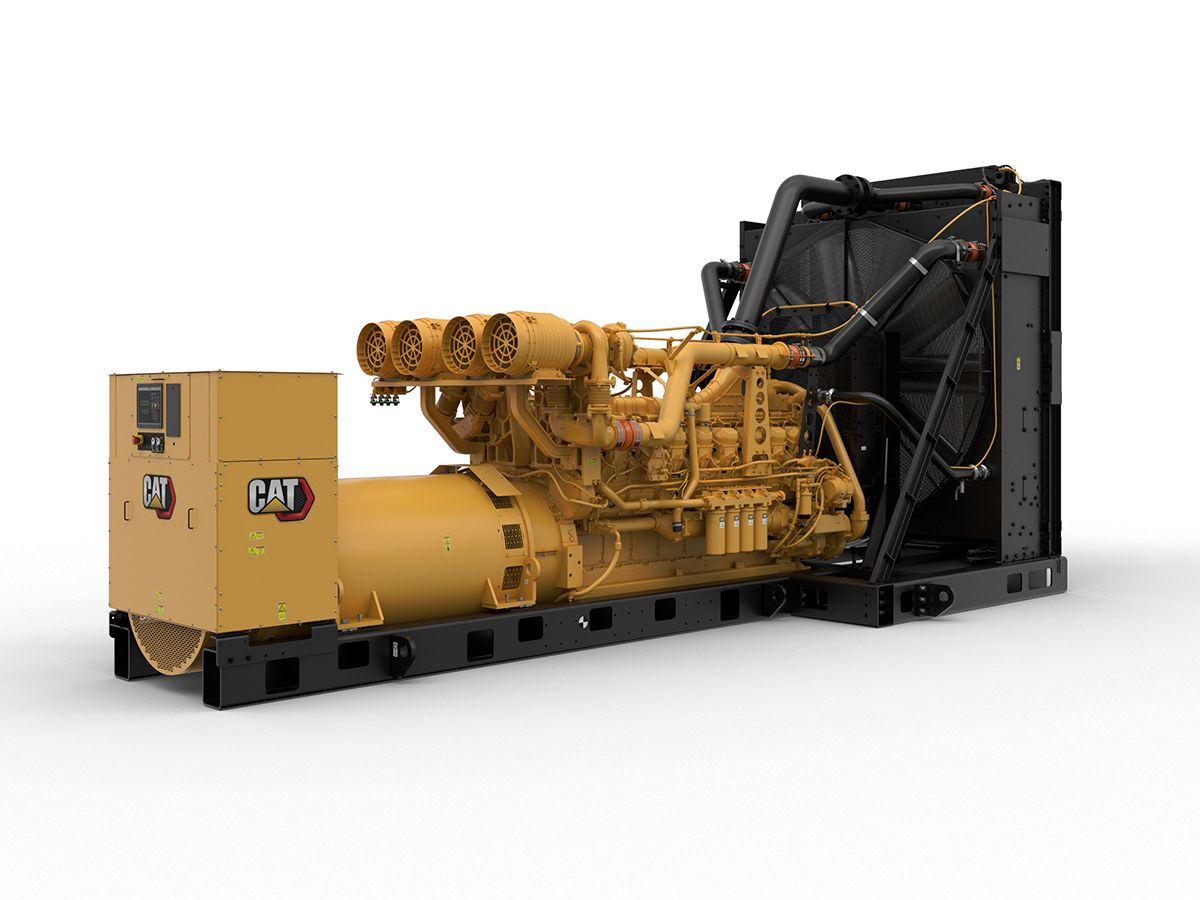 Cat® 3516E diesel generator set