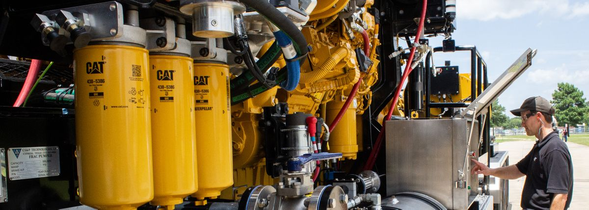 Well Service Training for Cat® Oil & Gas Customers