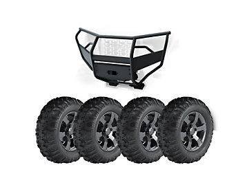 "Kit, 27"" Tires, Aluminum Rims and Steel Bumper"