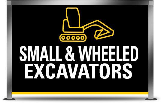 Small & Wheeled Excavators
