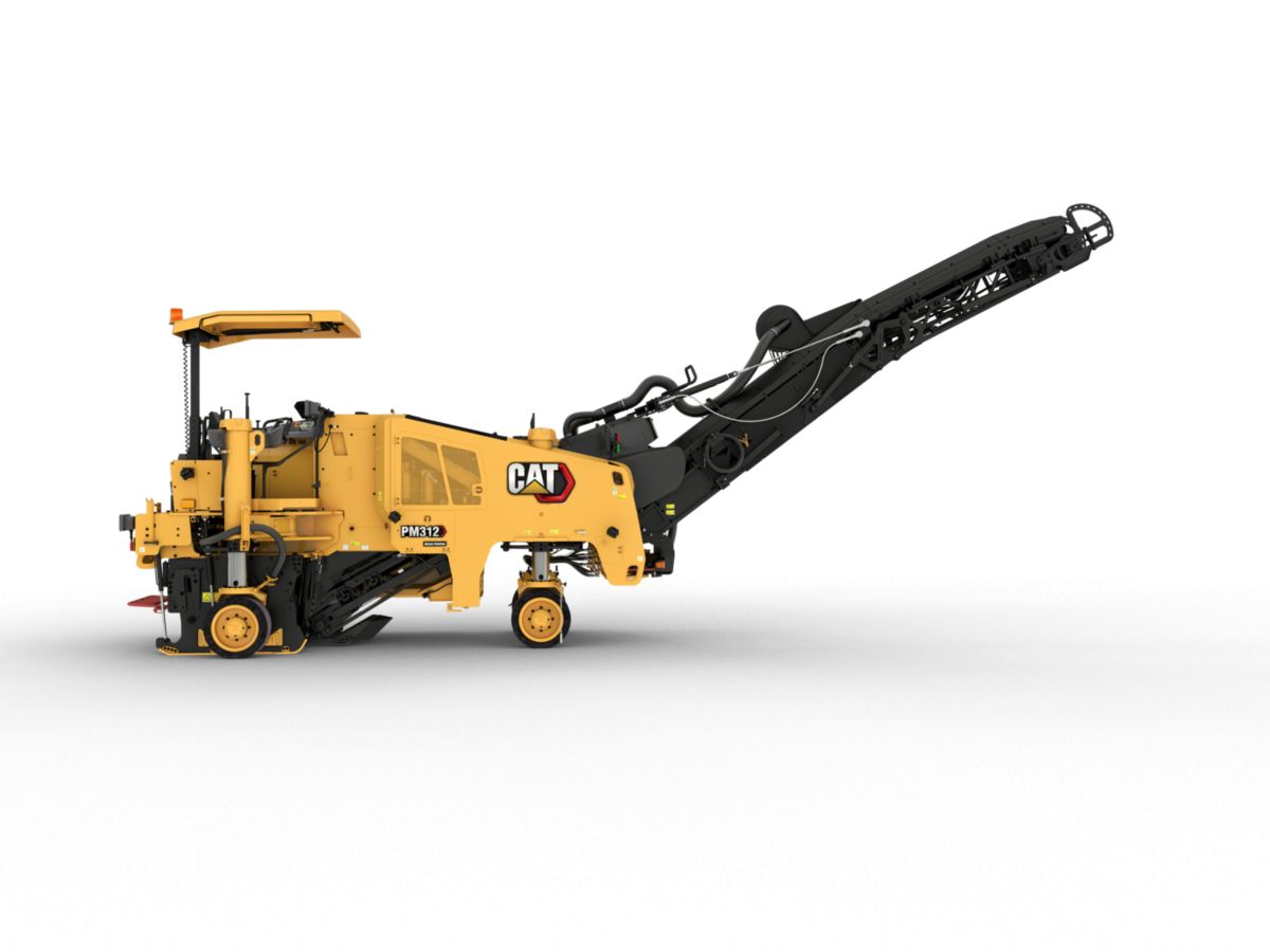 PM312 Cold Planer with Wheel Undercarriage