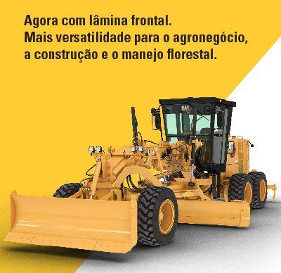 Ahora con cuchilla frontal  Más versatilidad para el agronegocio, la construcción y el manejo forestal.