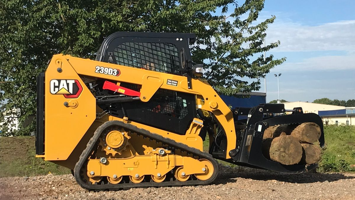 Cat® 239D3 Compact Track Loader>
