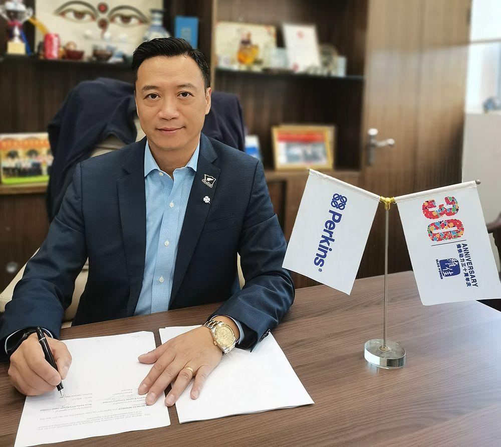 Perkins 指定维佳动力公司作为其日本经销商