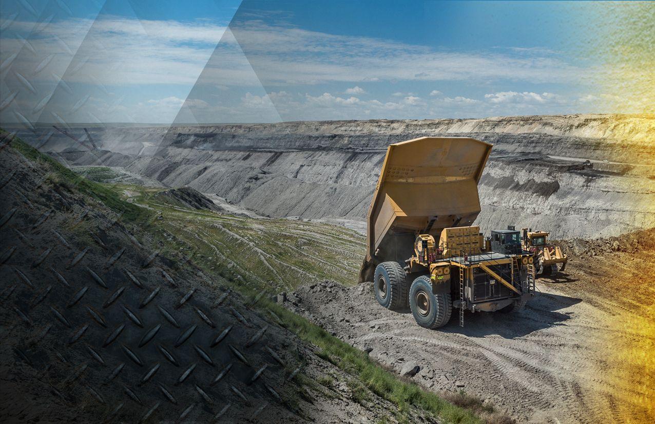 Cat Large Mining Trucks
