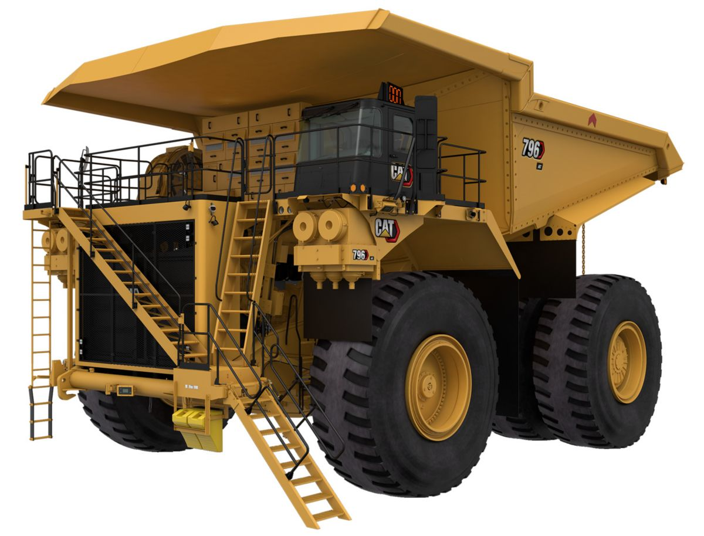 796 AC Mining Truck