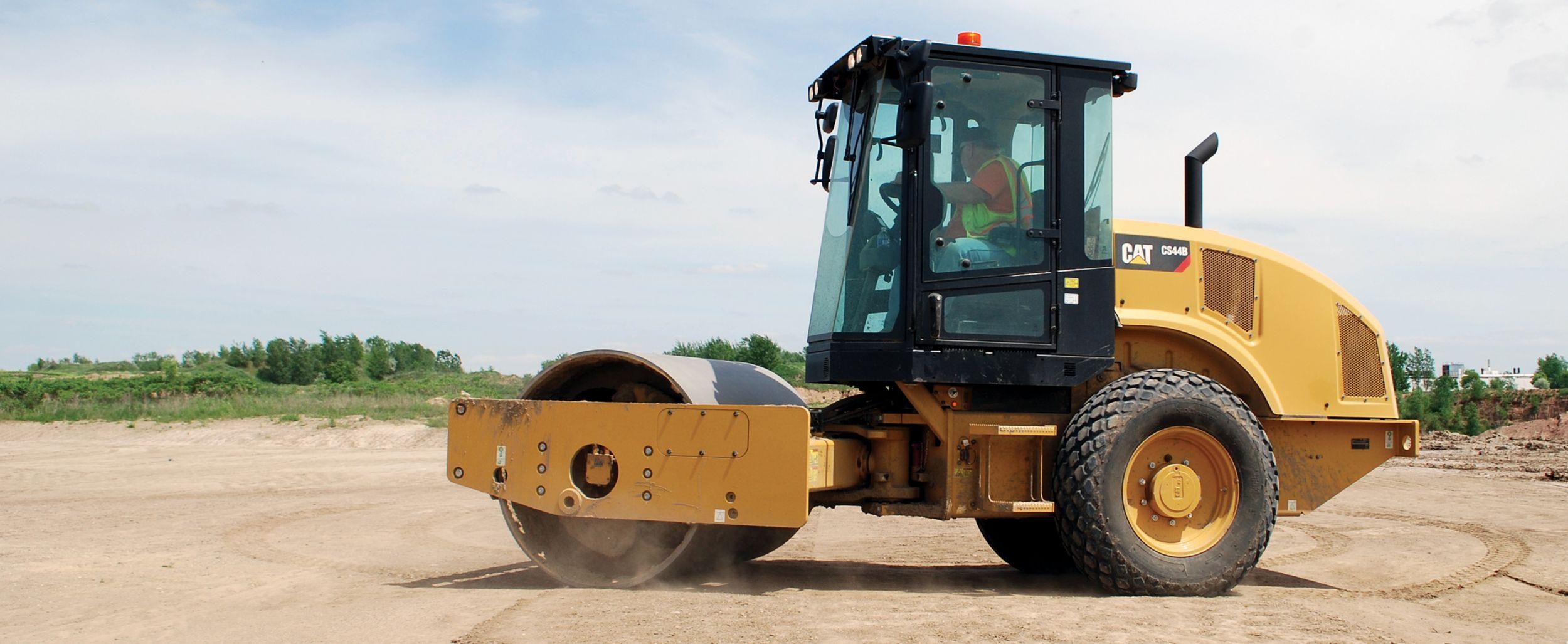 Cat Vibratory Soil Compactors