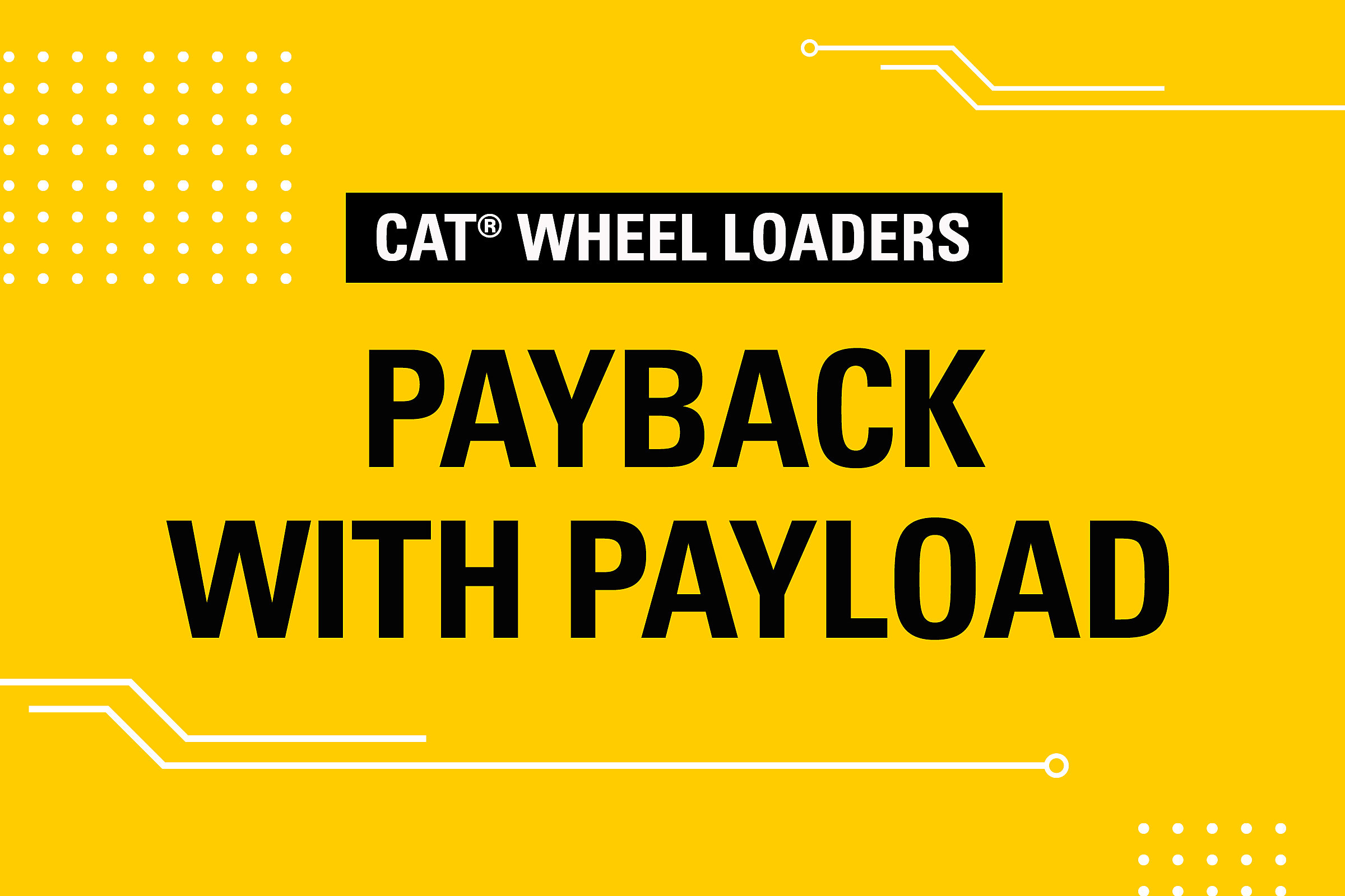Wheel Loaders Payback with Payload