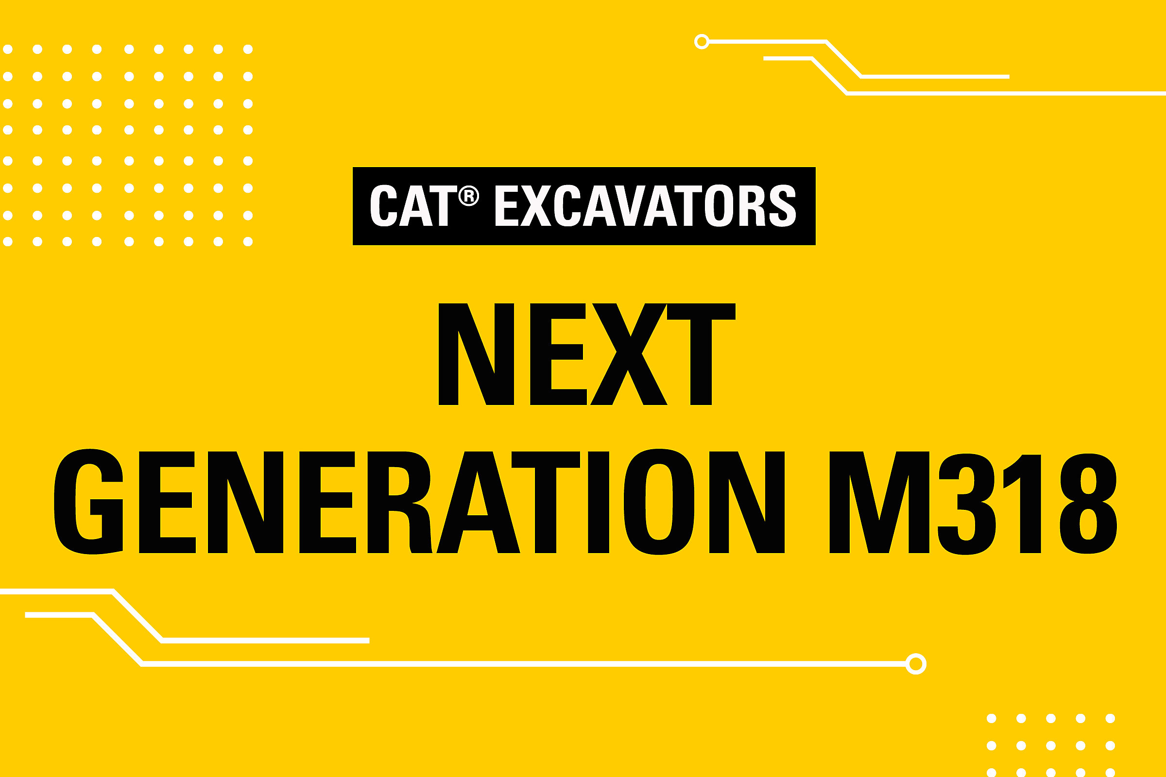 Wheeled Excavators Next Generation M318