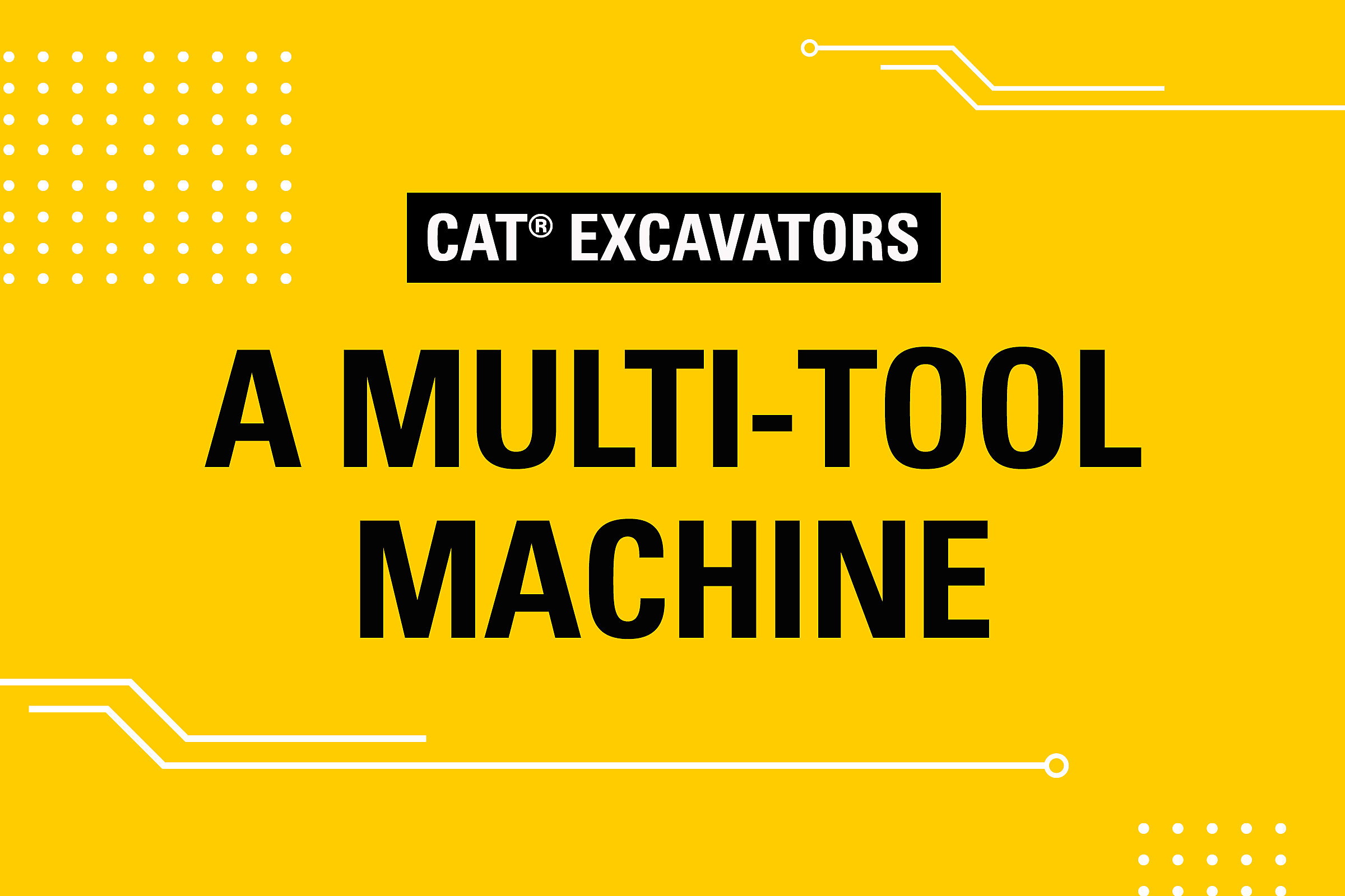 Wheeled Excavators Multi-Tool Machine