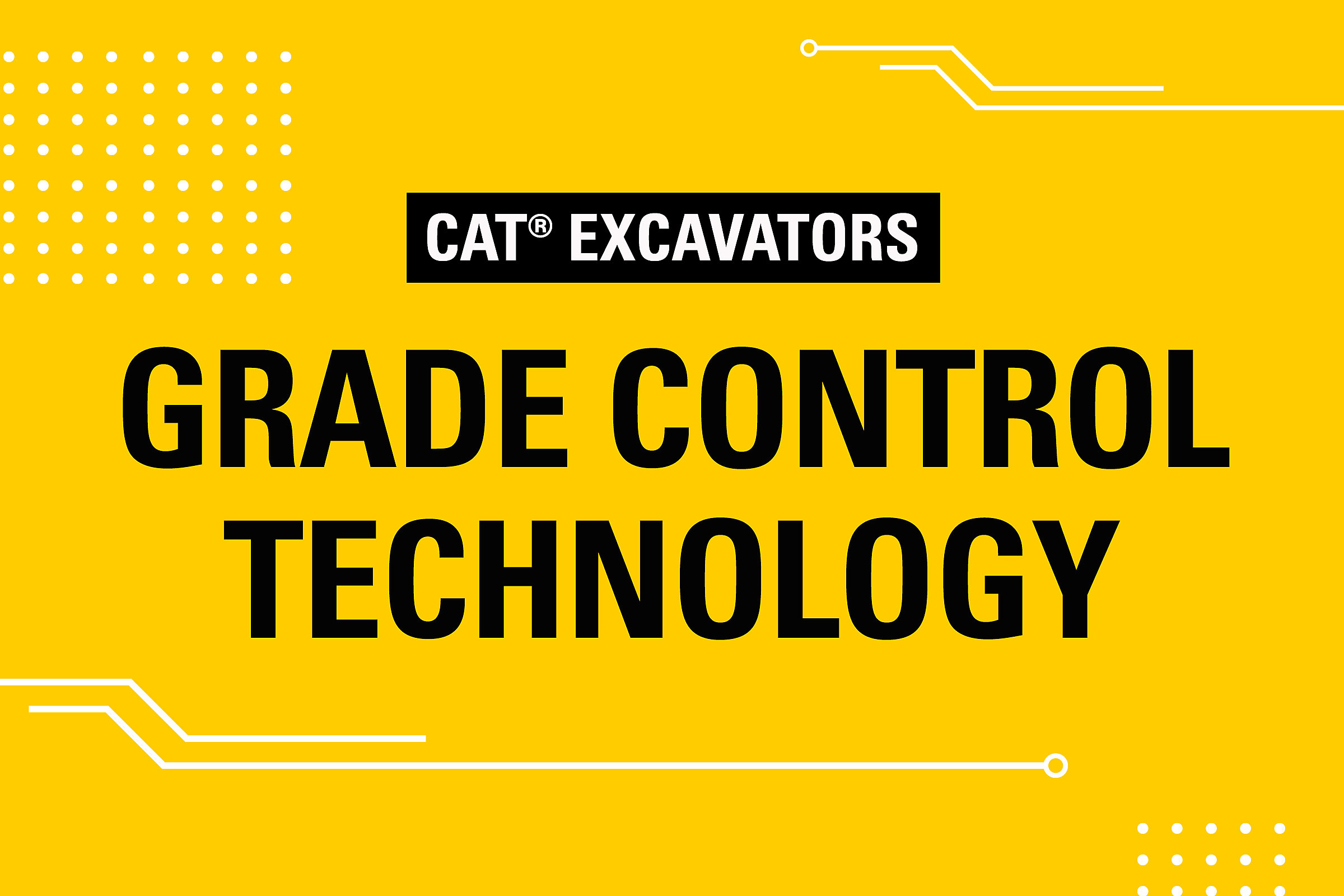 Excavators Grade Control Technology