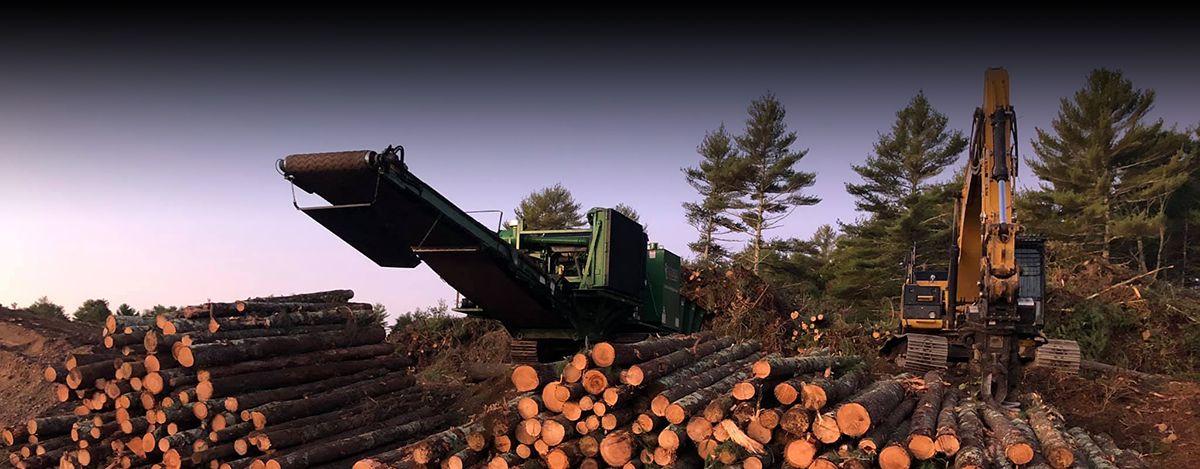 Hurley Land Clearing Bandit 4680 Grinder - Cat® C32 Engine