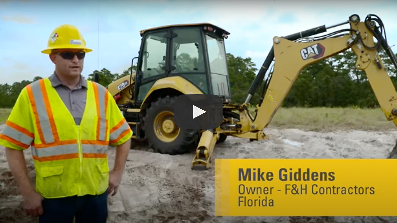 420 XE Backhoe Loader Customer Story
