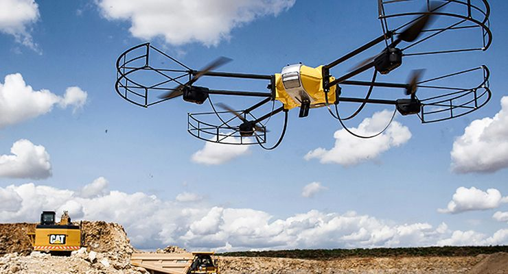 Take Efficiency to New Heights with UAV Technology