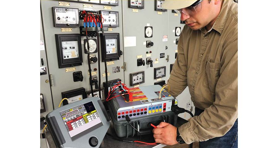 Protective relay maintenance and testing
