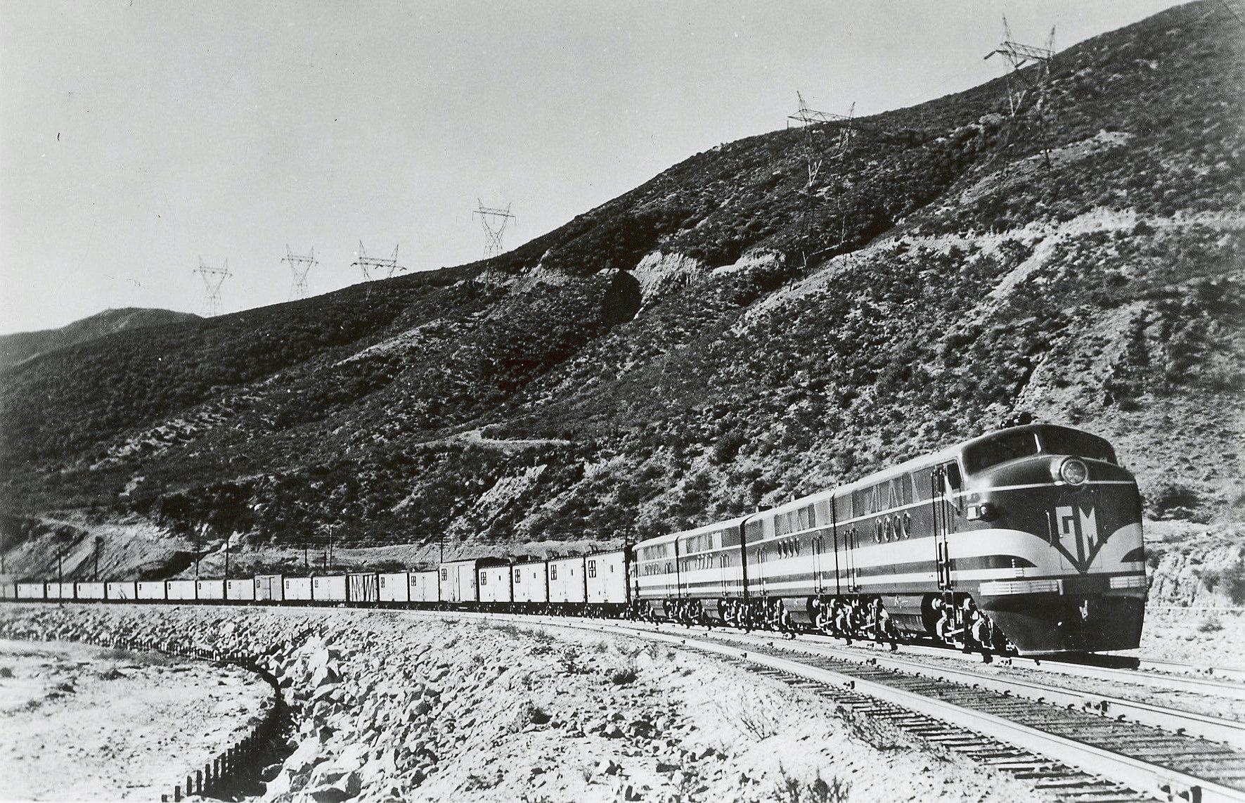 EMD 1940 Sante Fe Switcher