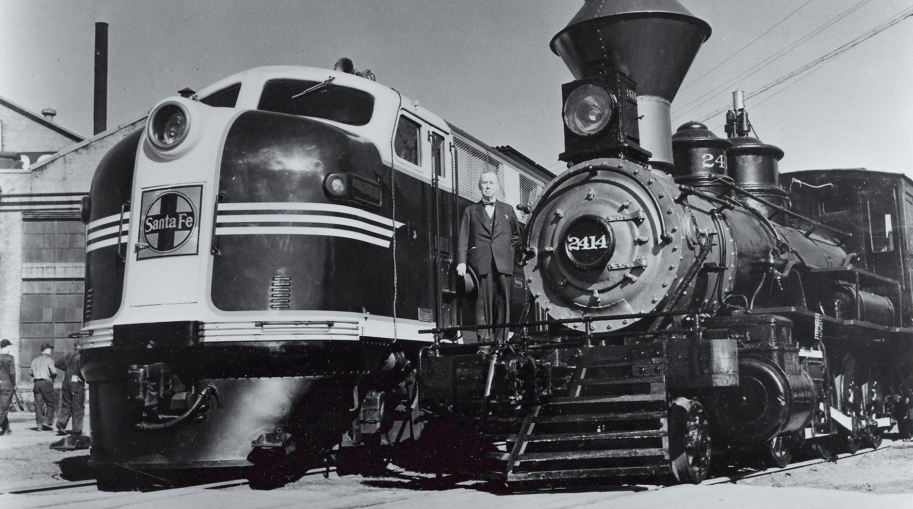 EMD 1942 Sante Fe Switcher