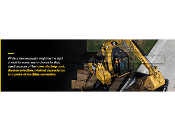 Benefits of Buying a Used Excavator