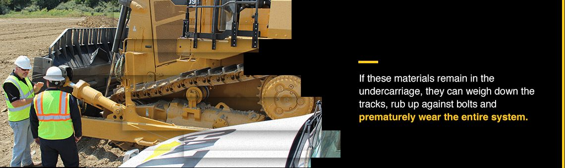 How and When to Clean Your Machine's Undercarriage