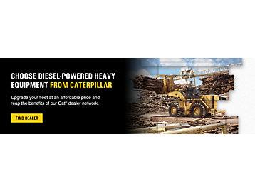 Choose Diesel-Powered Heavy Equipment From Caterpillar