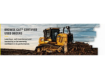 Browse Cat® Certified Used Dozers Today