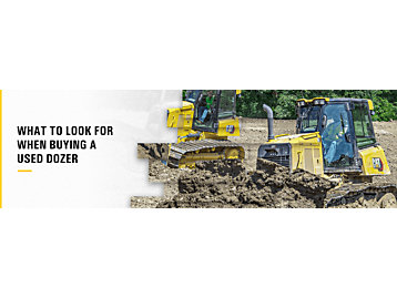 What To Look for When Buying a Used Dozer