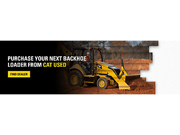 Purchase Your Next Backhoe Loader From Cat Used