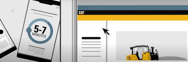 Apply for financing online at mycatfinancial.com