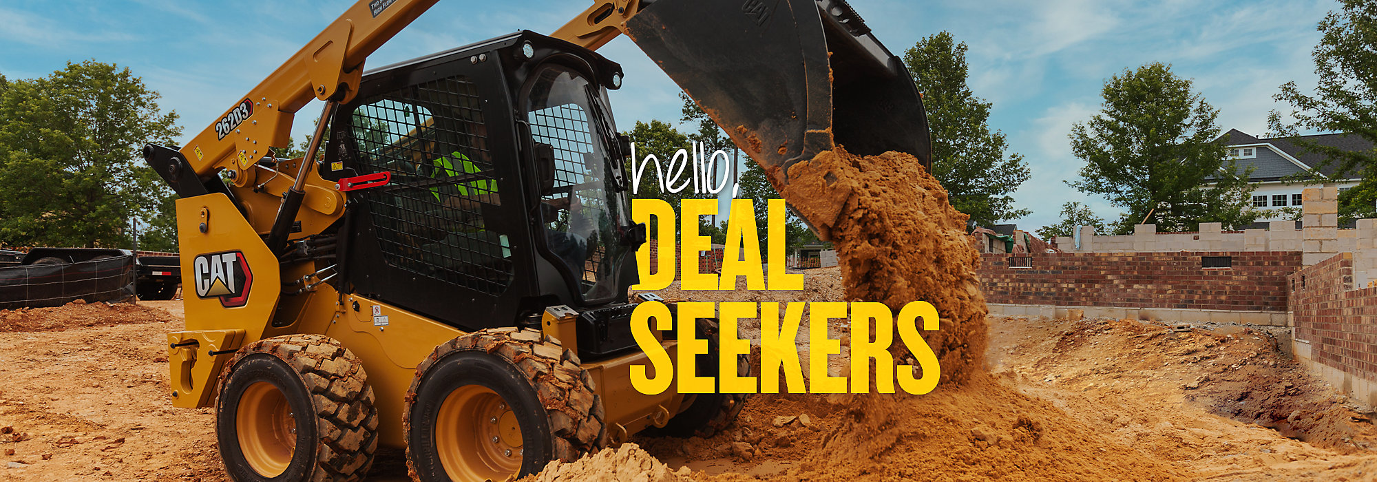 Cat Skid Steer Loaders - Hello, Deal Seekers