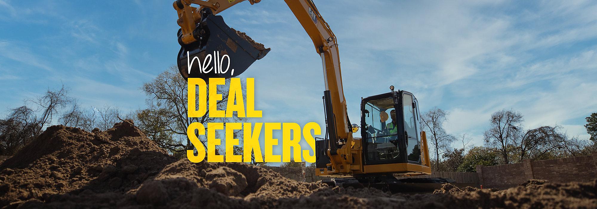 Cat Mini Excavators - Hello, operators.