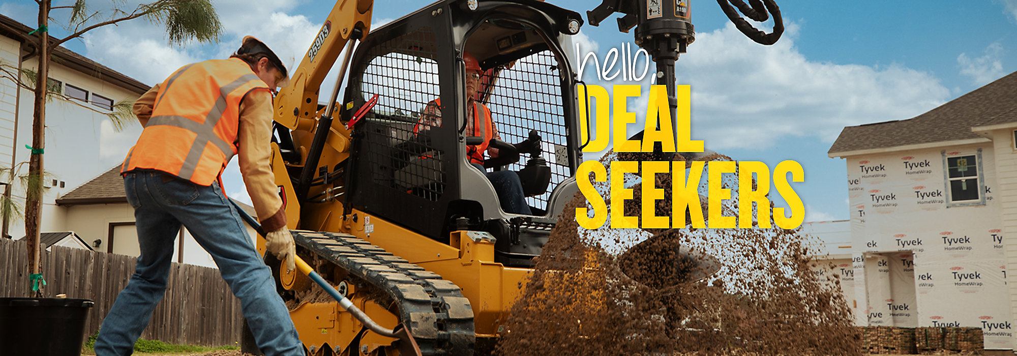 Cat Compact Track Loaders - Hello, operators.