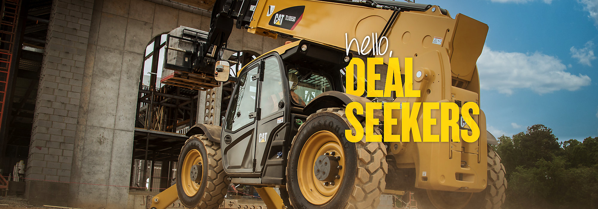Cat Telehandlers - Hello, Deal Seekers