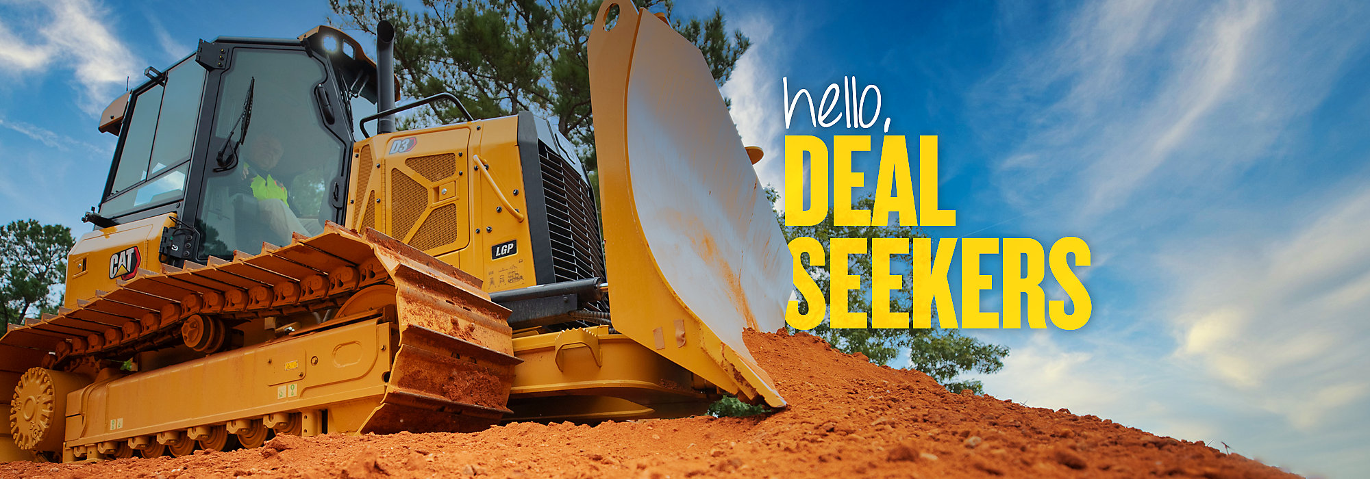 Cat Small Dozers - Hello, Deal Seekers