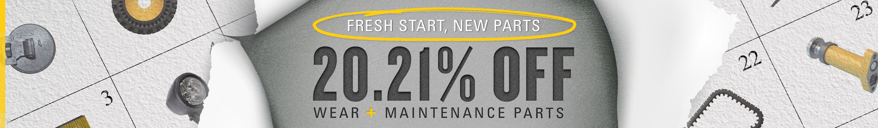 20.21% Off Wear & Maintenance