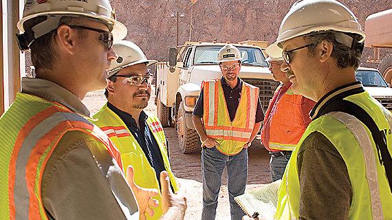 Quarry & Aggregates Job Site