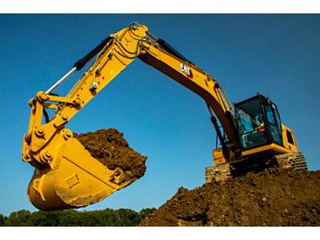 Cat 317 GC Excavator
