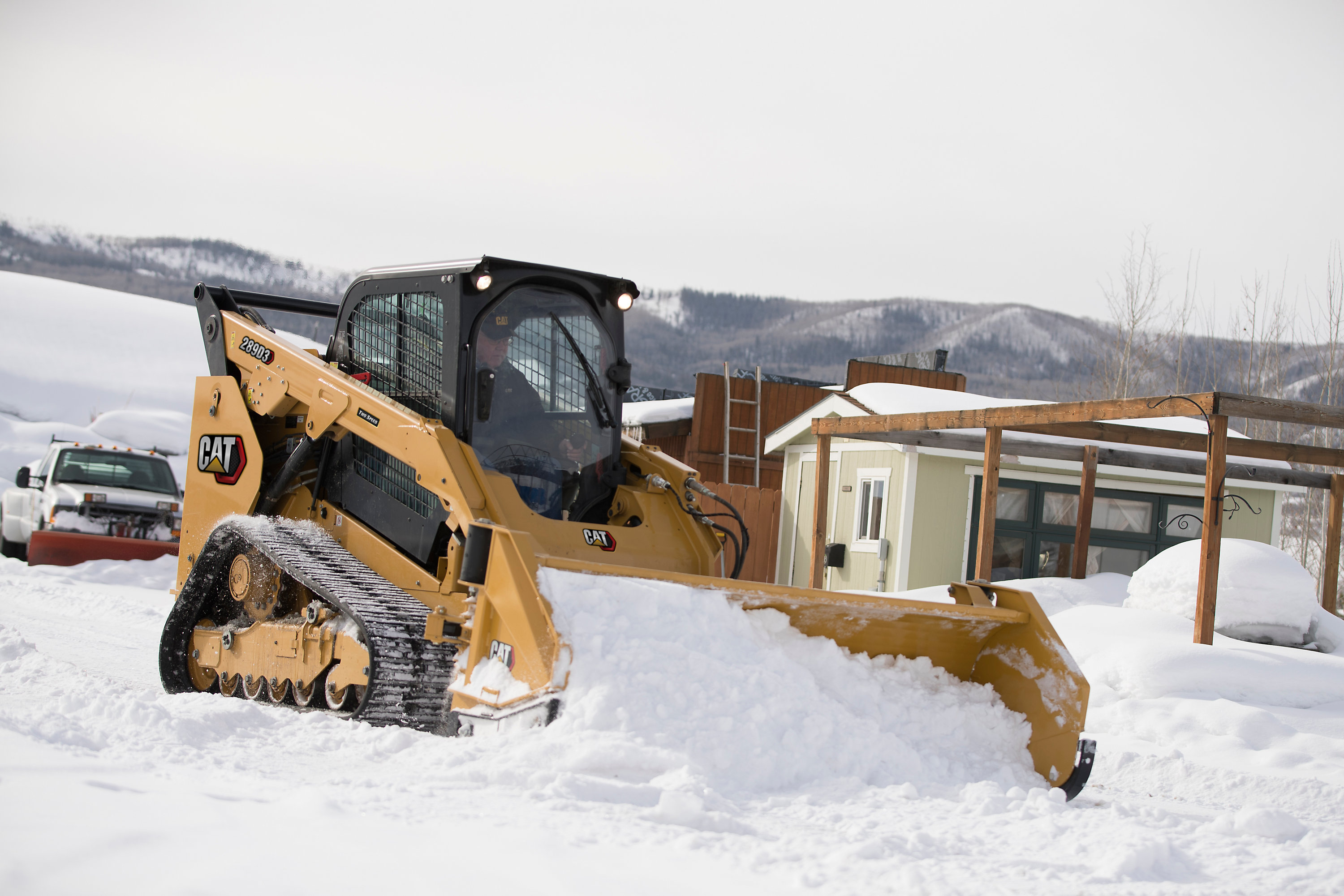 Cat Machines and Equipment for landscaping