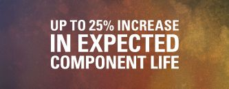 Up to 25% Increase in Expected Component Life