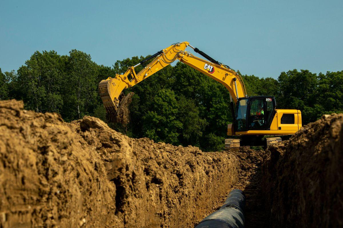 317 GC Hydraulic Excavator