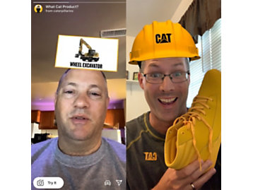 Men using Cat filter