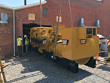 Carter Machinery Expands Peak Shaving Capabilities for Town of Berlin, Maryland with New Cat® Gas Generator Set