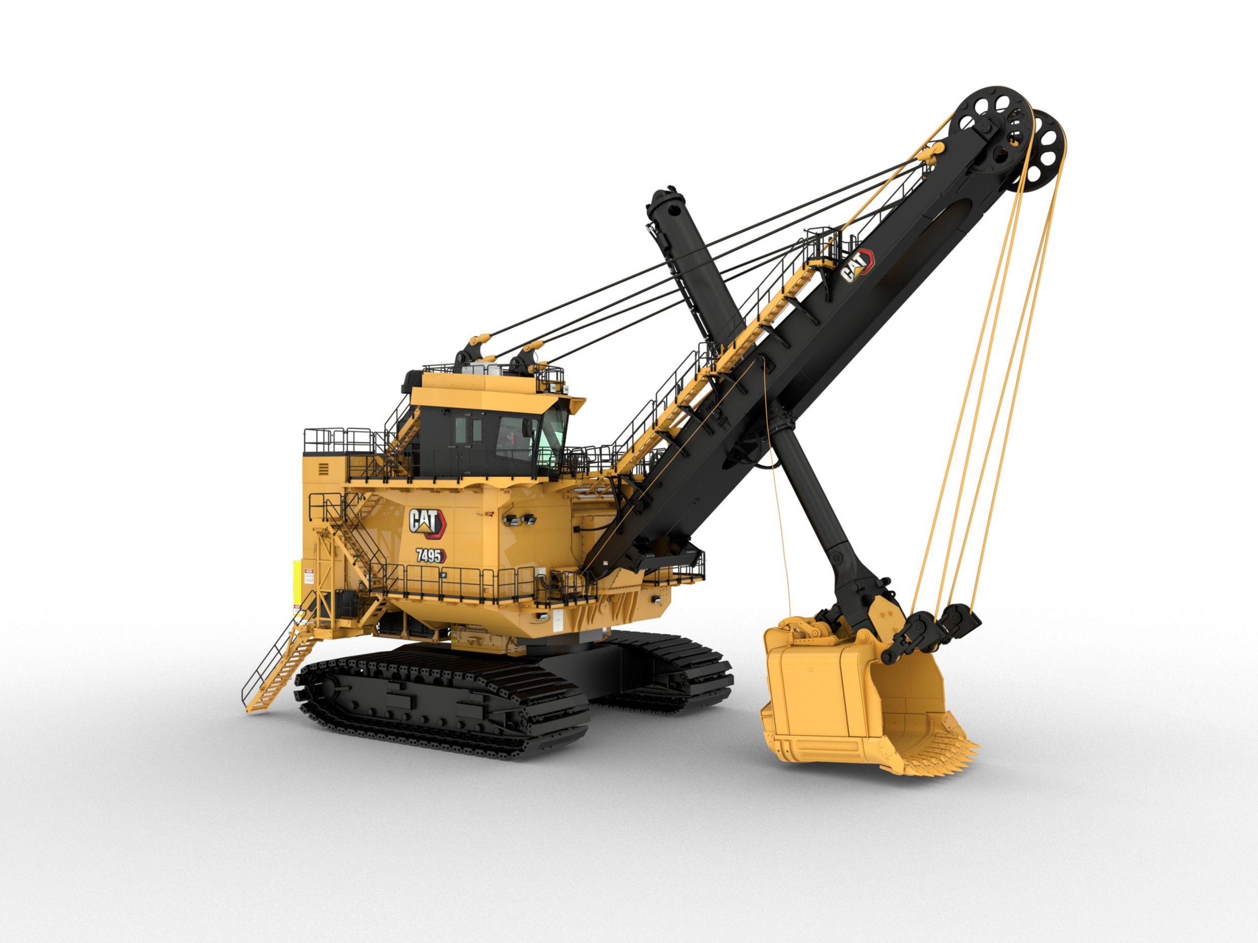 Cat 7495 Electric Rope Shovel
