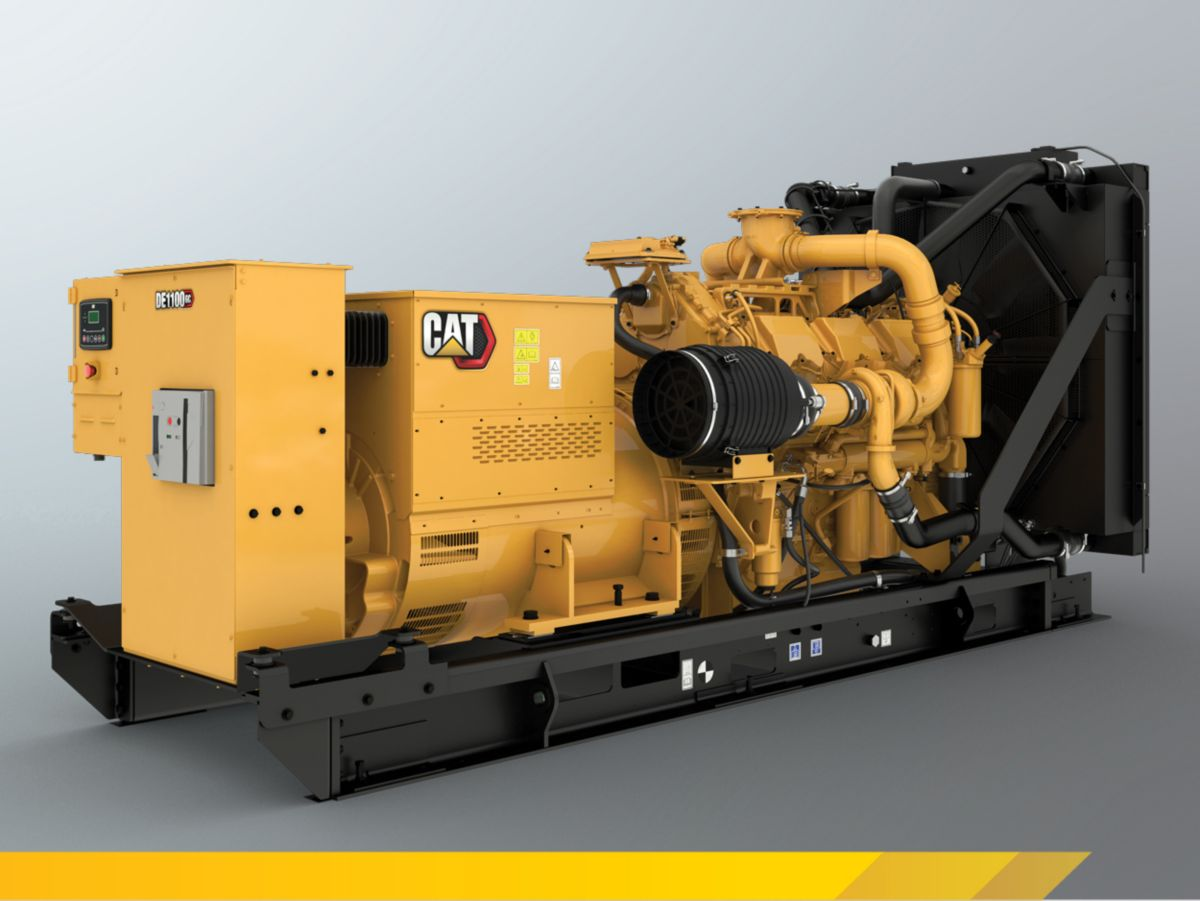 Cat DE1100 GC Open Genset